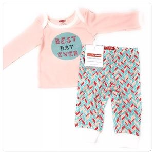 Infant Girls Bodysuit & Pants Set Sz 3 Months NWT